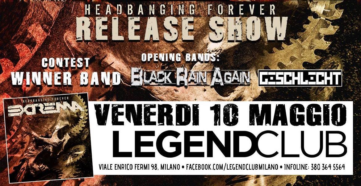 Black Rain Again - Legend Club Milano