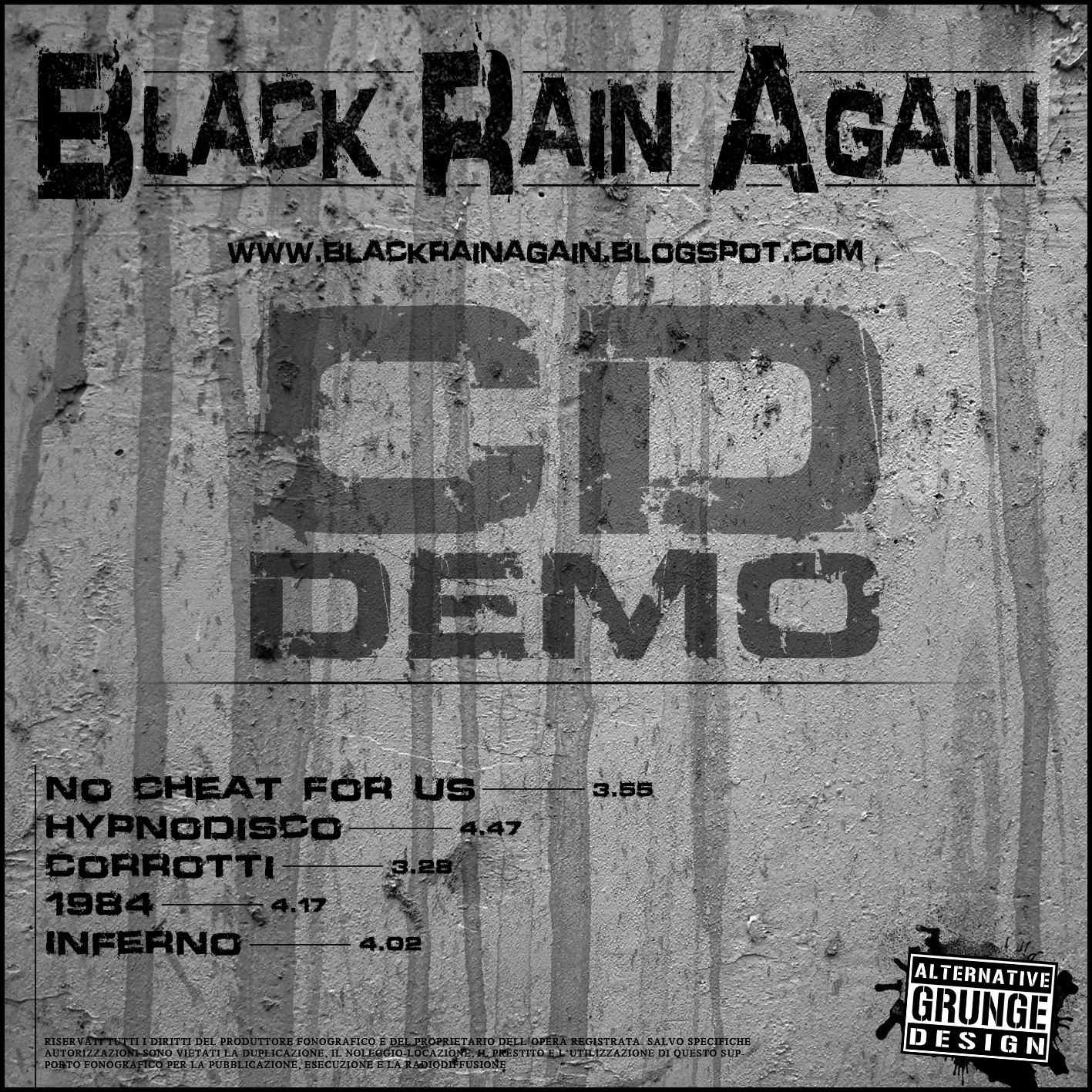 Black Rain Againa - Demo 2012